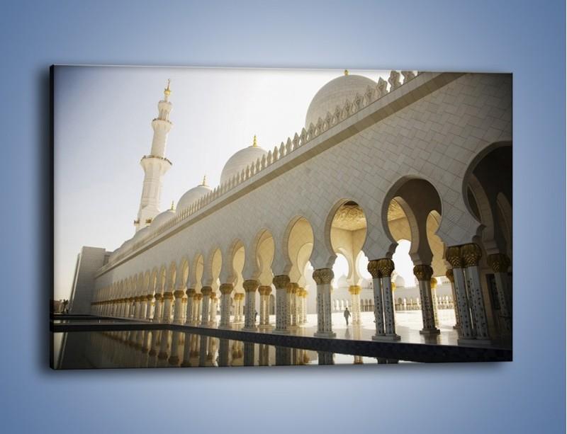 Obraz na płótnie – Bliskowschodnia architektura – jednoczęściowy prostokątny poziomy AM177