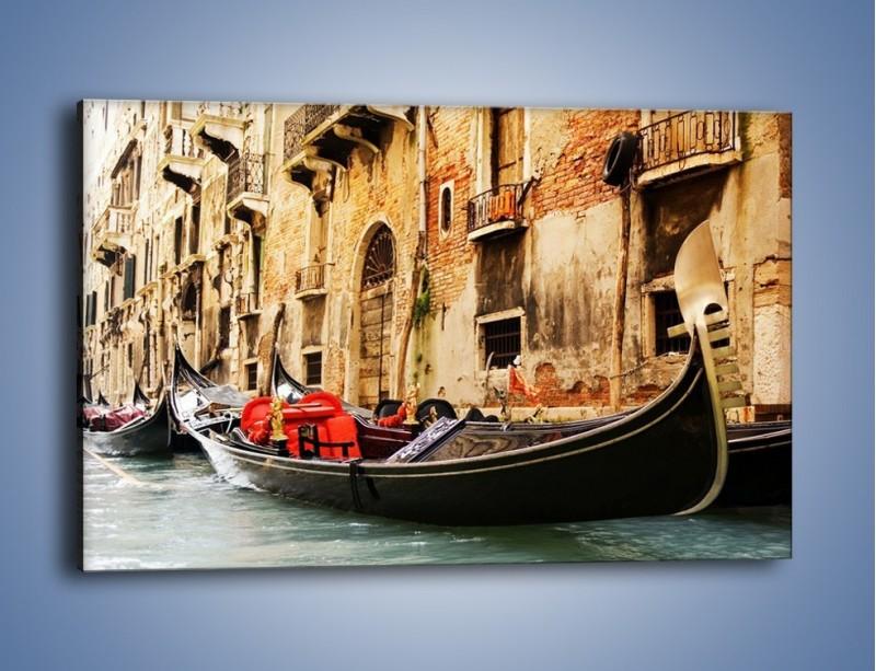 Obraz na płótnie – Wenecka gondola – jednoczęściowy prostokątny poziomy AM286