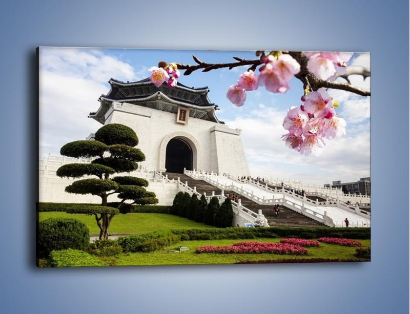 Obraz na płótnie – Azjatycka architektura – jednoczęściowy prostokątny poziomy AM299