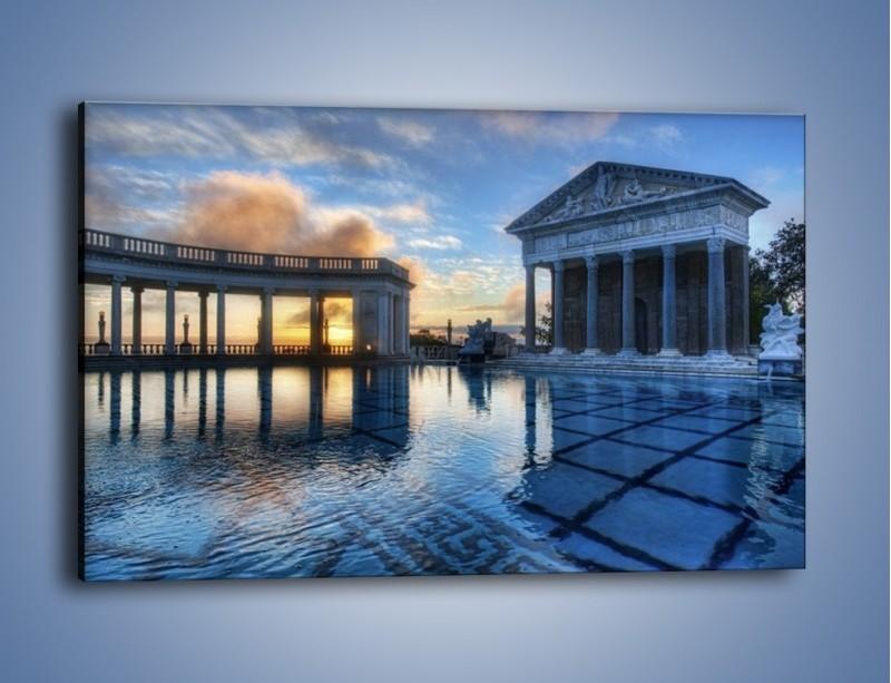 Obraz na płótnie – Neptune pool w Kalifornii – jednoczęściowy prostokątny poziomy AM320