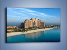 Obraz na płótnie – Atlantis Hotel w Dubaju – jednoczęściowy prostokątny poziomy AM341