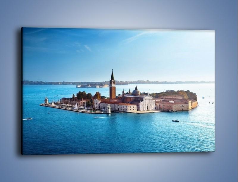 Obraz na płótnie – Wyspa San Giorgio Maggiore – jednoczęściowy prostokątny poziomy AM380