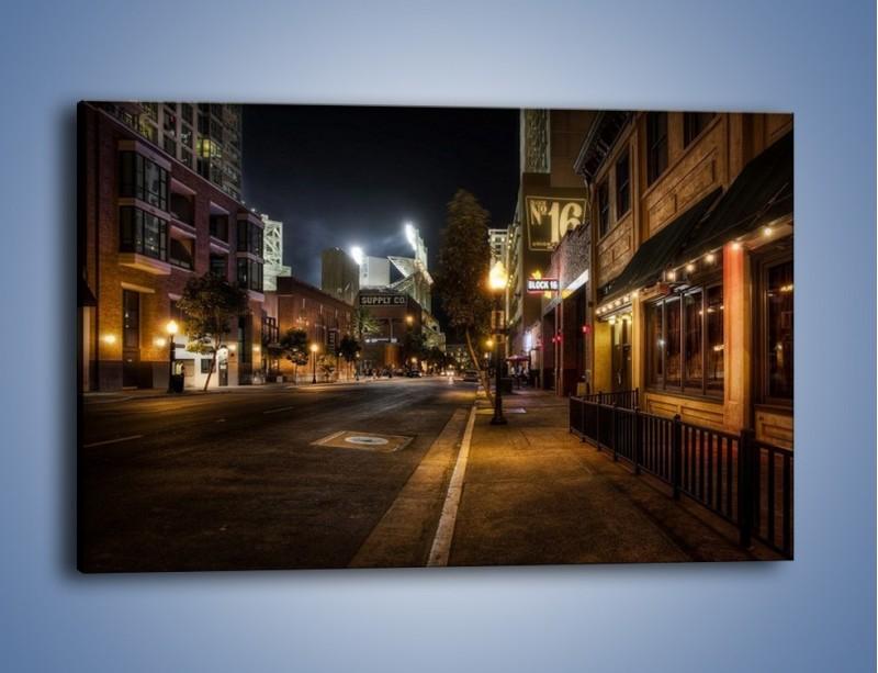 Obraz na płótnie – Ulica San Diego w Kaliforni – jednoczęściowy prostokątny poziomy AM390