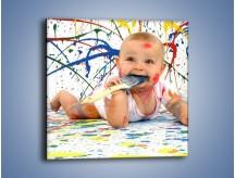 Obraz na płótnie – Chodź pomaluj mój świat – jednoczęściowy kwadratowy L059