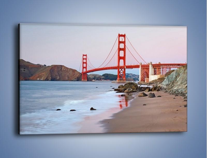 Obraz na płótnie – Most Golden Gate – jednoczęściowy prostokątny poziomy AM406