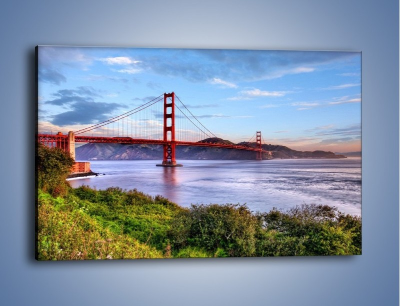 Obraz na płótnie – Most Golden Gate w San Francisco – jednoczęściowy prostokątny poziomy AM444