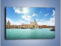 Obraz na płótnie – Canal Grande w Wenecji – jednoczęściowy prostokątny poziomy AM449