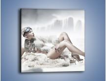 Obraz na płótnie – Biel i jego bogactwo – jednoczęściowy kwadratowy L100