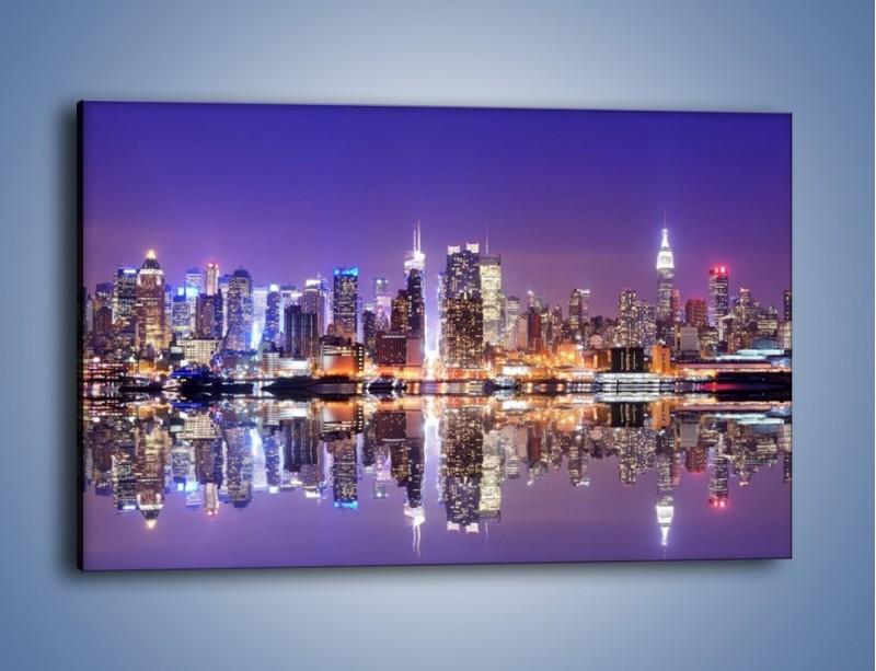 Obraz na płótnie – Panorama Midtown Manhattan – jednoczęściowy prostokątny poziomy AM492