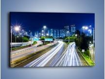 Obraz na płótnie – Autostrada prowadząca do Hong Kongu – jednoczęściowy prostokątny poziomy AM504