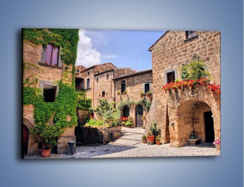 Obraz na płótnie – Romantyczna uliczka we Włoszech – jednoczęściowy prostokątny poziomy AM533