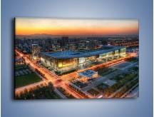 Obraz na płótnie – Centrum kongresowe CNCC w Chinach – jednoczęściowy prostokątny poziomy AM575