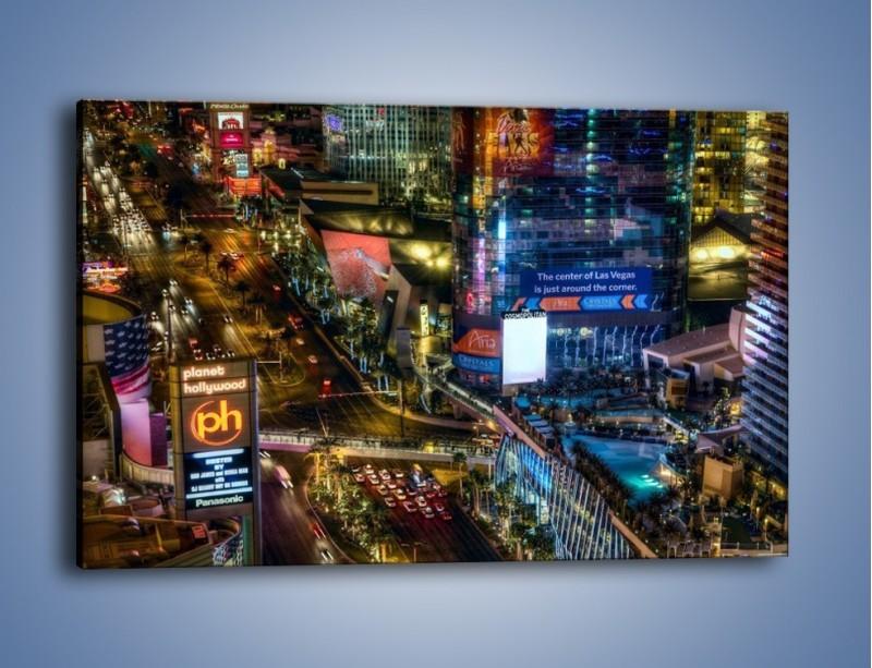 Obraz na płótnie – Cosmopolitan of Las Vegas – jednoczęściowy prostokątny poziomy AM577
