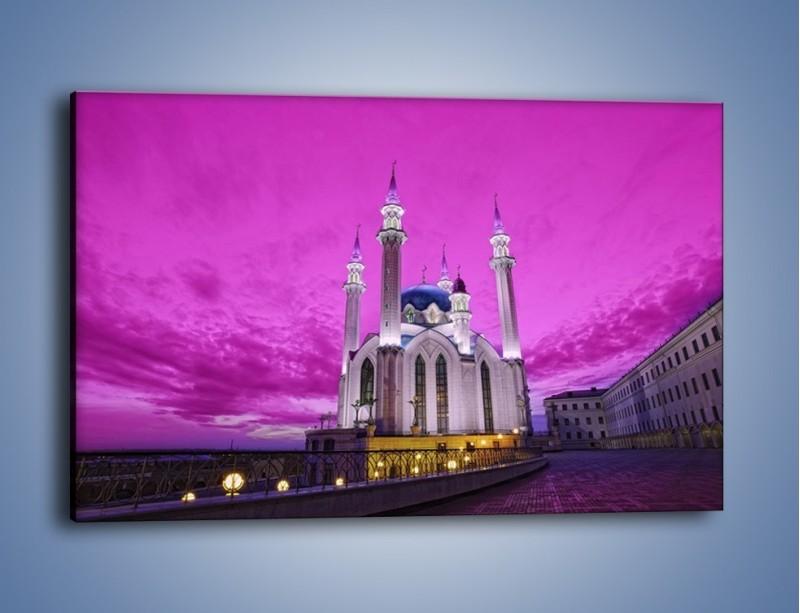 Obraz na płótnie – Meczet Kul Szarif – jednoczęściowy prostokątny poziomy AM642