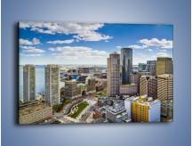 Obraz na płótnie – Boston w stanie Massachusetts – jednoczęściowy prostokątny poziomy AM700