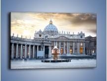 Obraz na płótnie – Bazylika św. Piotra w Watykanie – jednoczęściowy prostokątny poziomy AM722