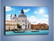 Obraz na płótnie – Bazylika Santa Maria della Salute w Wenecji – jednoczęściowy prostokątny poziomy AM775