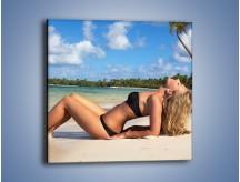 Obraz na płótnie – Czas rajskich plaży – jednoczęściowy kwadratowy L316