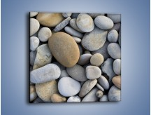 Obraz na płótnie – Kamienie duże i małe – jednoczęściowy kwadratowy O006