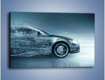 Obraz na płótnie – Auto z prędkością światła – jednoczęściowy prostokątny poziomy GR264