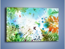 Obraz na płótnie – Baśniowa kraina w kolorach – jednoczęściowy prostokątny poziomy GR270