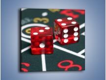 Obraz na płótnie – Kostki do gry dla dorosłych – jednoczęściowy kwadratowy O059