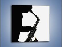 Obraz na płótnie – Idealne solo na saksofonie – jednoczęściowy kwadratowy O084
