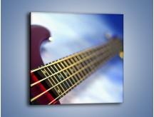 Obraz na płótnie – Gitara z bliska – jednoczęściowy kwadratowy O088
