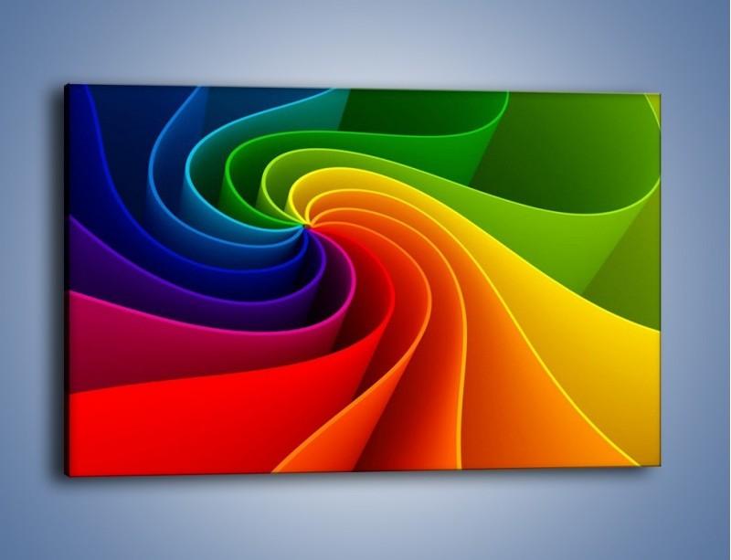 Obraz na płótnie – Niczym kolorowy kwiat – jednoczęściowy prostokątny poziomy GR392