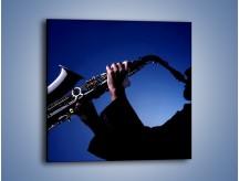 Obraz na płótnie – Koncert na saksofonie – jednoczęściowy kwadratowy O110