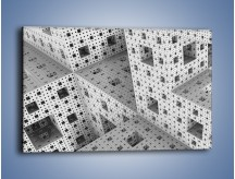 Obraz na płótnie – Budynki z klocków – jednoczęściowy prostokątny poziomy GR410