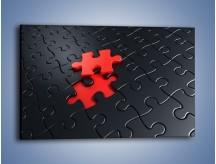 Obraz na płótnie – Brakujący element – jednoczęściowy prostokątny poziomy GR453