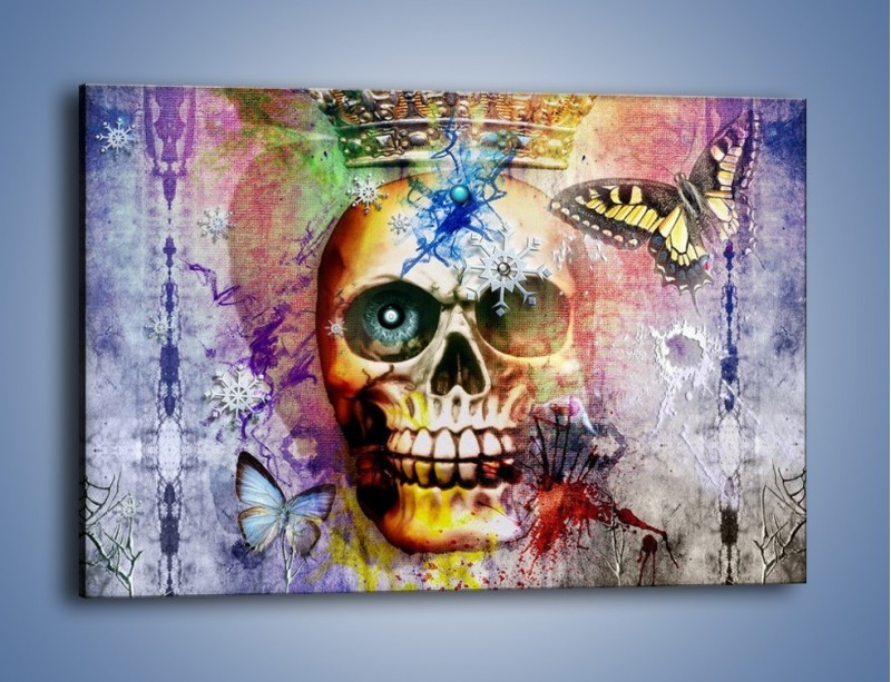 Obraz na płótnie – Władza śmierć i nieznane – jednoczęściowy prostokątny poziomy GR455