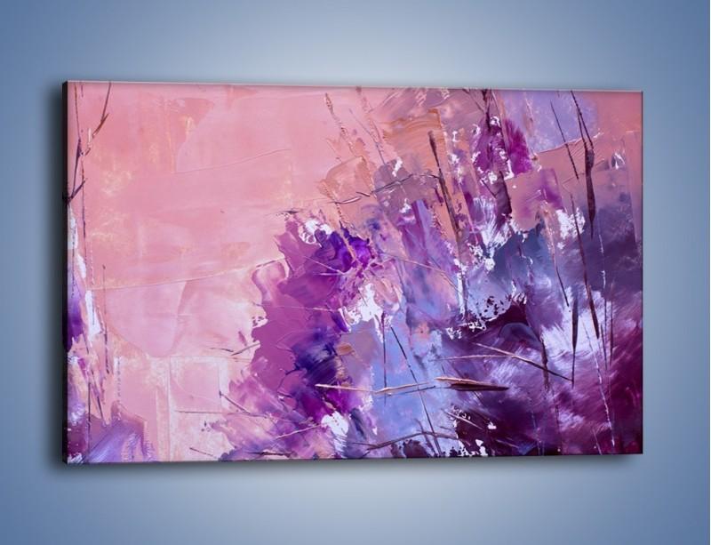 Obraz na płótnie – Mocna barwa fioletu – jednoczęściowy prostokątny poziomy GR472