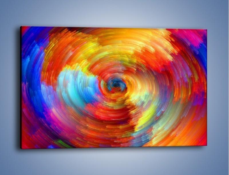 Obraz na płótnie – Kolorowy wir – jednoczęściowy prostokątny poziomy GR502
