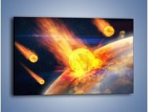 Obraz na płótnie – Atak kula ognia – jednoczęściowy prostokątny poziomy GR532
