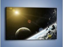Obraz na płótnie – Dotrzeć między planety – jednoczęściowy prostokątny poziomy GR534