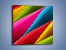 Obraz na płótnie – Idealna kolorowa kompozycja – jednoczęściowy kwadratowy O219