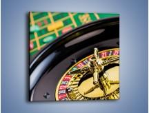 Obraz na płótnie – Czas drogocenny w kasynie – jednoczęściowy kwadratowy O238