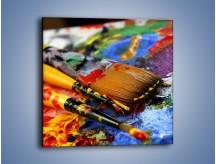 Obraz na płótnie – Kolory ze sobą zmieszane – jednoczęściowy kwadratowy O251