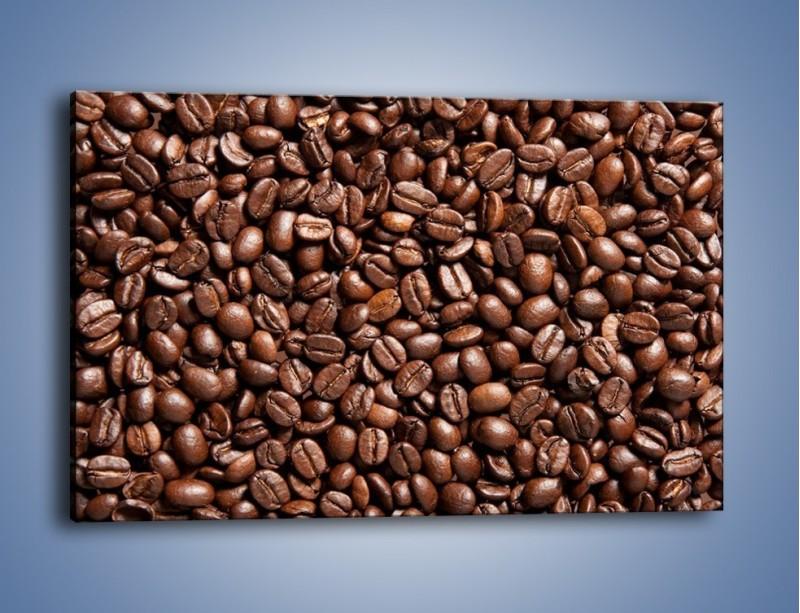 Obraz na płótnie – Ziarna świeżej kawy – jednoczęściowy prostokątny poziomy JN061