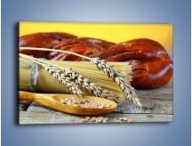 Obraz na płótnie – Chleb pszenno-kukurydziany – jednoczęściowy prostokątny poziomy JN090