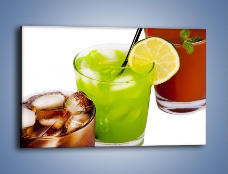 Obraz na płótnie – Kwaśno-słodkie drinki – jednoczęściowy prostokątny poziomy JN093