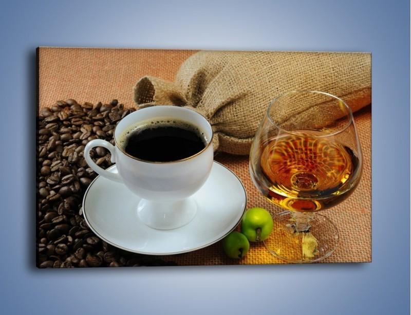 Obraz na płótnie – Wieczorowa kawa z prądem – jednoczęściowy prostokątny poziomy JN166