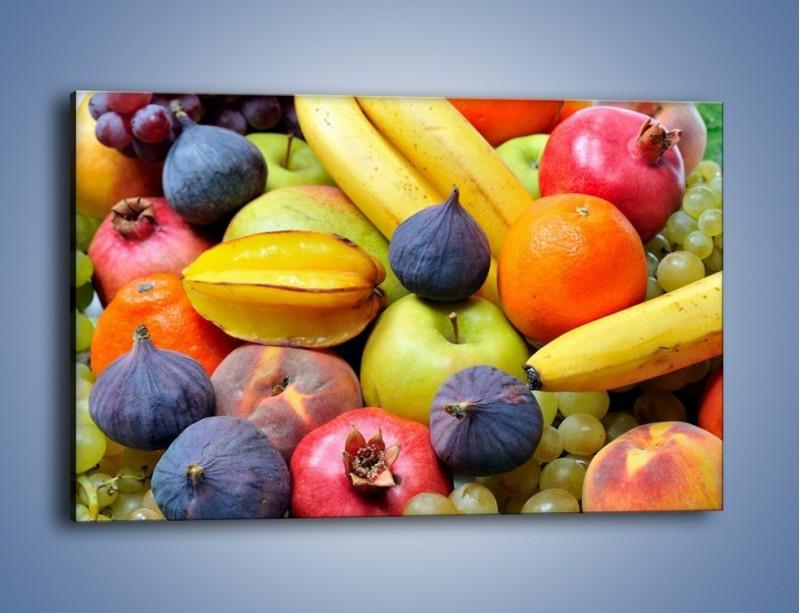 Obraz na płótnie – Owocowe kolorowe witaminki – jednoczęściowy prostokątny poziomy JN173