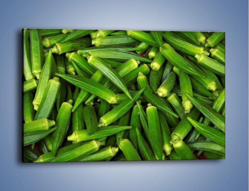 Obraz na płótnie – Warzywna egzotyka – jednoczęściowy prostokątny poziomy JN191