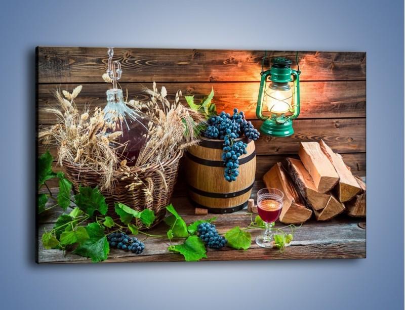 Obraz na płótnie – Wino według własnego przepisu – jednoczęściowy prostokątny poziomy JN202