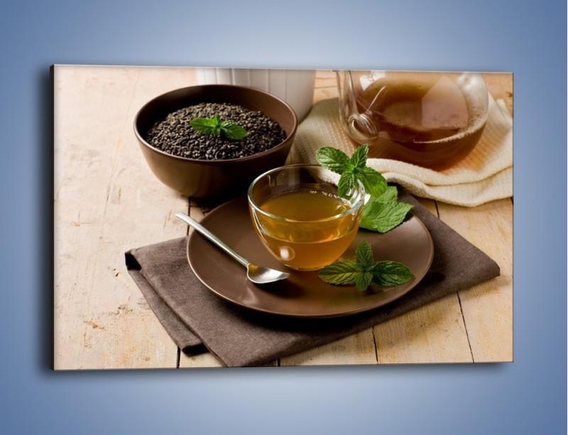 Obraz na płótnie – Filiżanka herbaty na poprawę humoru – jednoczęściowy prostokątny poziomy JN264