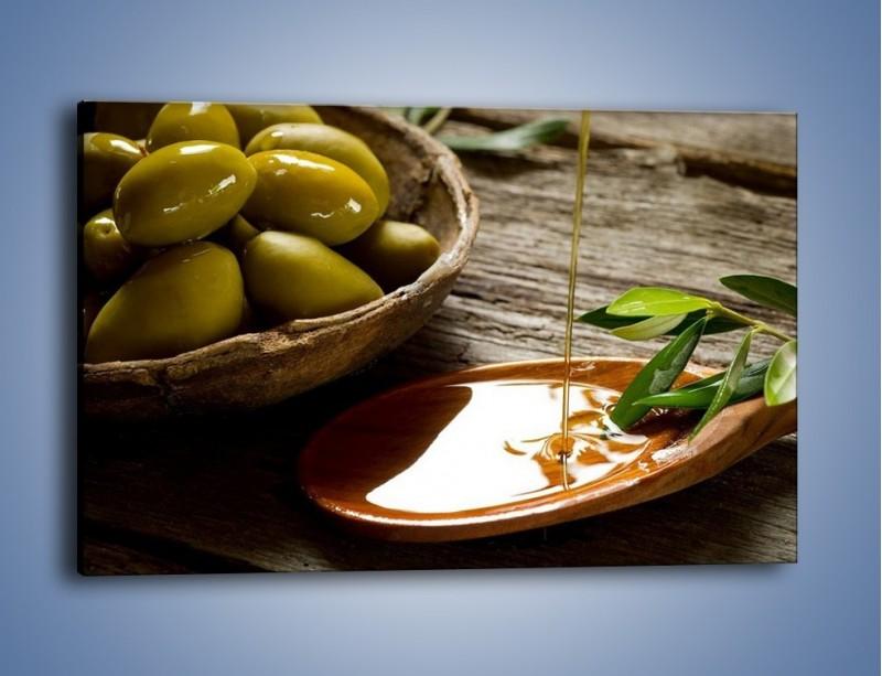 Obraz na płótnie – Bogactwa wydobyte z oliwek – jednoczęściowy prostokątny poziomy JN270