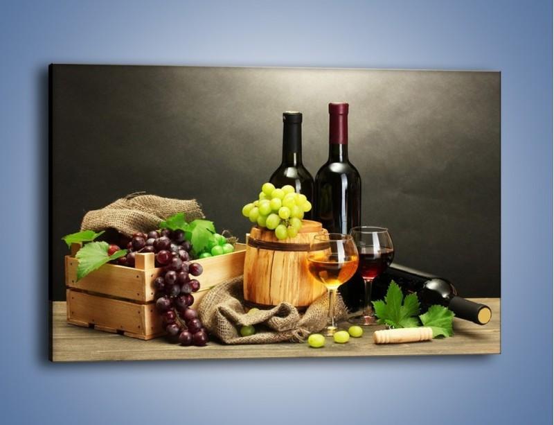 Obraz na płótnie – Wytrawne smaki wina – jednoczęściowy prostokątny poziomy JN289